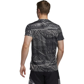 adidas OWN The Run Tee Men grey four/black